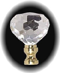 Crystal Lamp Finials - Highland Lighting, Louisville, KY